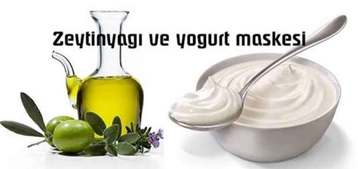 zeytinyagi ve yogurt maskesi