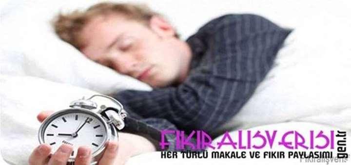 Uyku saatlerinizi düzenleyin.