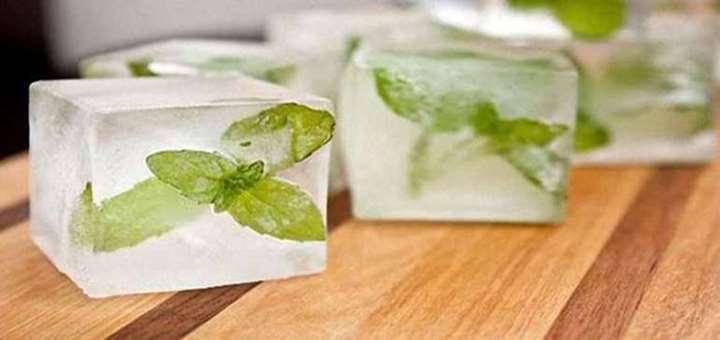 Detoks için hazırlayacağınız içeçeklerinizde kullanmak istediğiniz otları buz kabında dondurup, daha sonra kullanabilirsiniz.