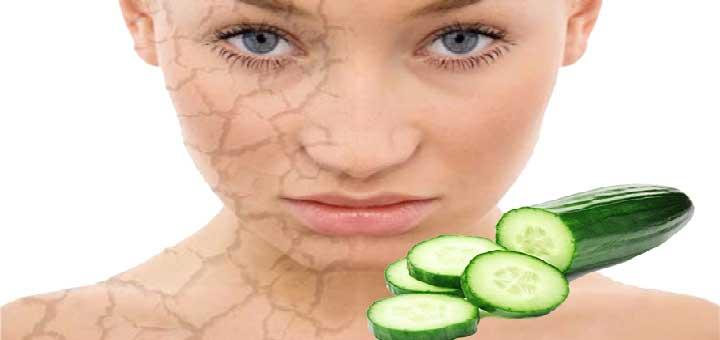 Salatalık Maskesi (Kuru Ciltler İçin)