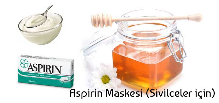Aspirin Maskesi (Sivilceler için)