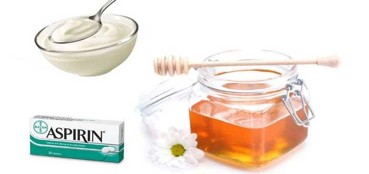 Aspirinli yoğurt maskesi