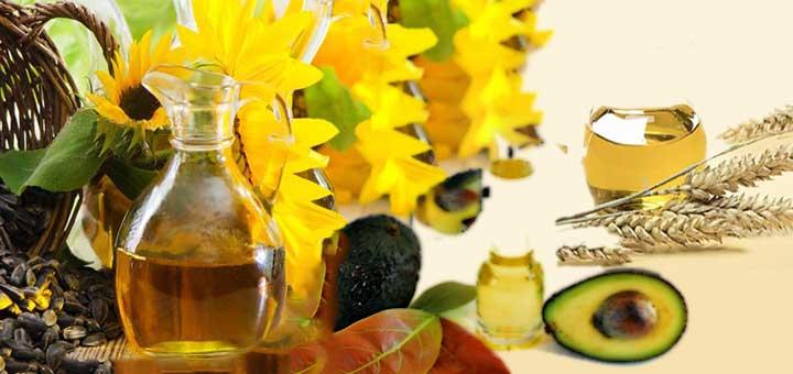 Bronzlaştırıcı doğal yağlardan ayçiçek yağı, avokado yağı ve buğday tohumu yağı