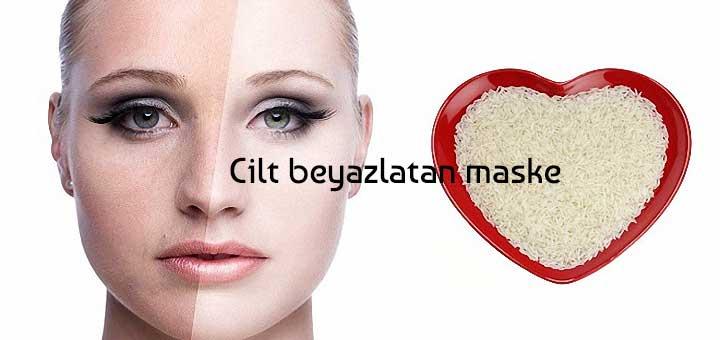 Cildi Beyazlatan Pirinç Maskesi