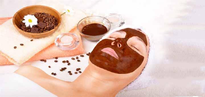 Cilt yenileyici çikolata maskesi