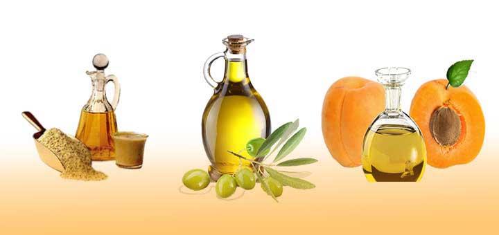 Bronzlaştırıcı doğal yağlardan susam yağı, zeytinyağı ve kayısı yağı