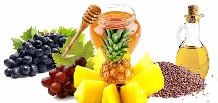Üzüm Çekirdeği Bal ve Ananaslı Yüz Maskesi
